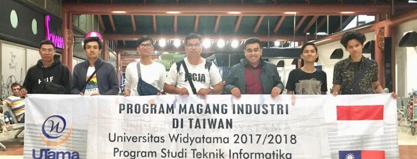 Enam Mahasiswa Universitas Widyatama Mengikuti Program Study Abroad & Internship di Taiwan