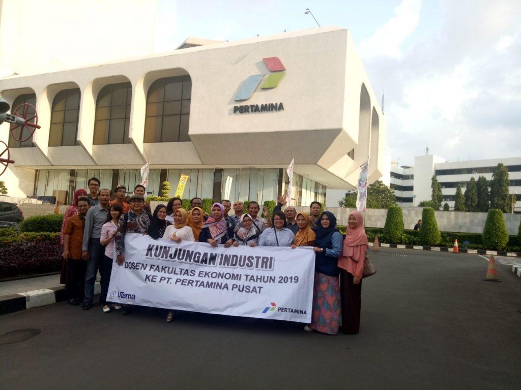 Kunjungan Industri Dosen Prodi Akuntansi Ke Pt. Pertamina