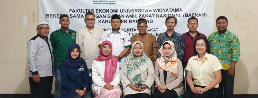 PKM Fakultas Ekonomi Dengan Baznaz Kabupaten Bandung