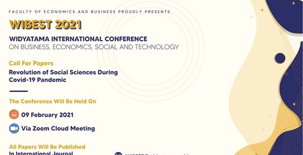 Pelaksanaan Seminar International  WIBEST 2021